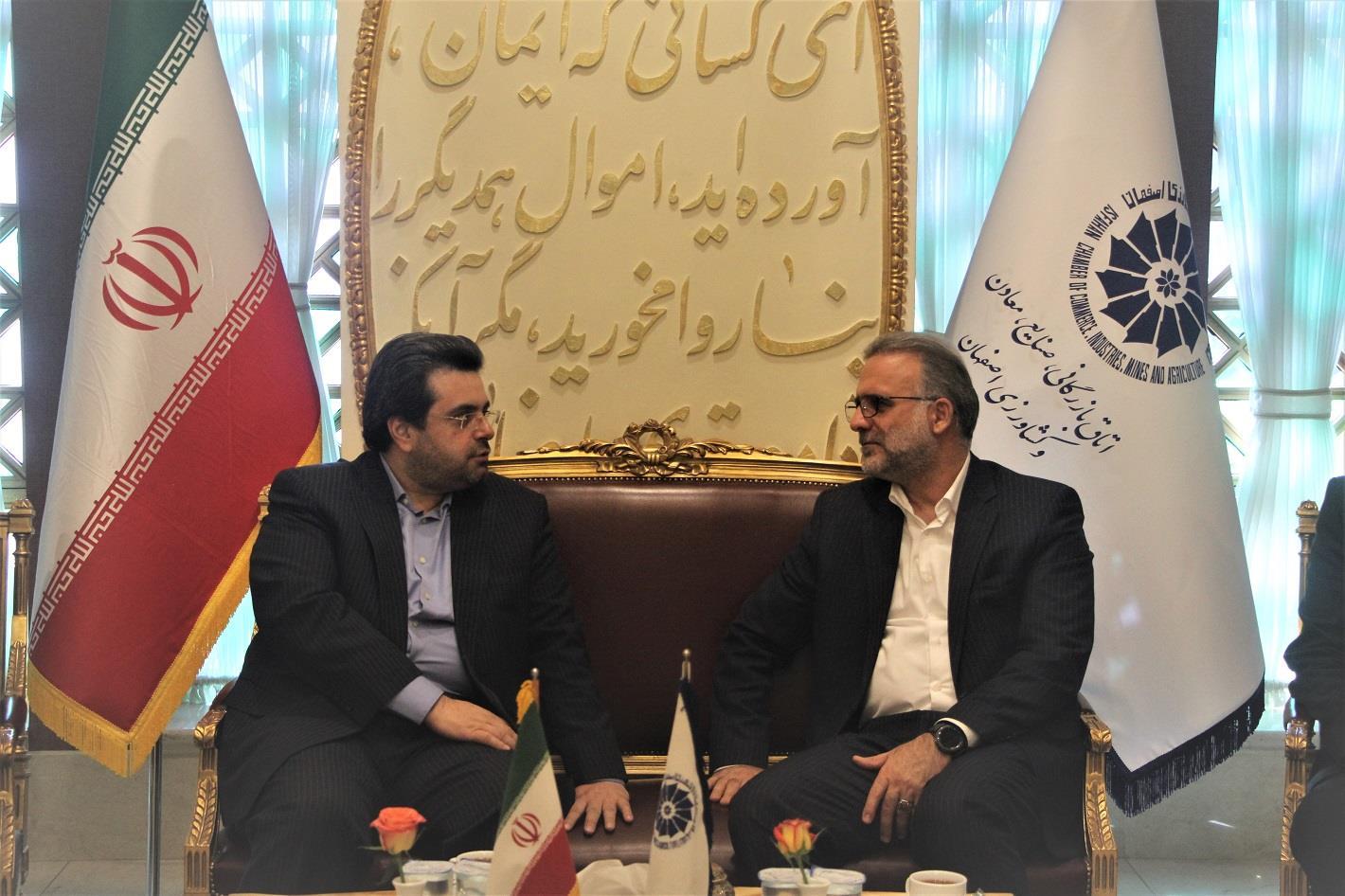 حمایت بانک تجارت  از کسب و کارها نوپا با معرفی اتاق بازرگانی اصفهان